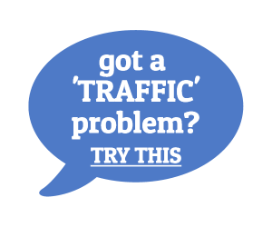 Solve Your Traffic Problem - Click Here