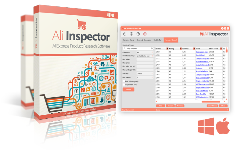 Ali Inspector - Product Research Software