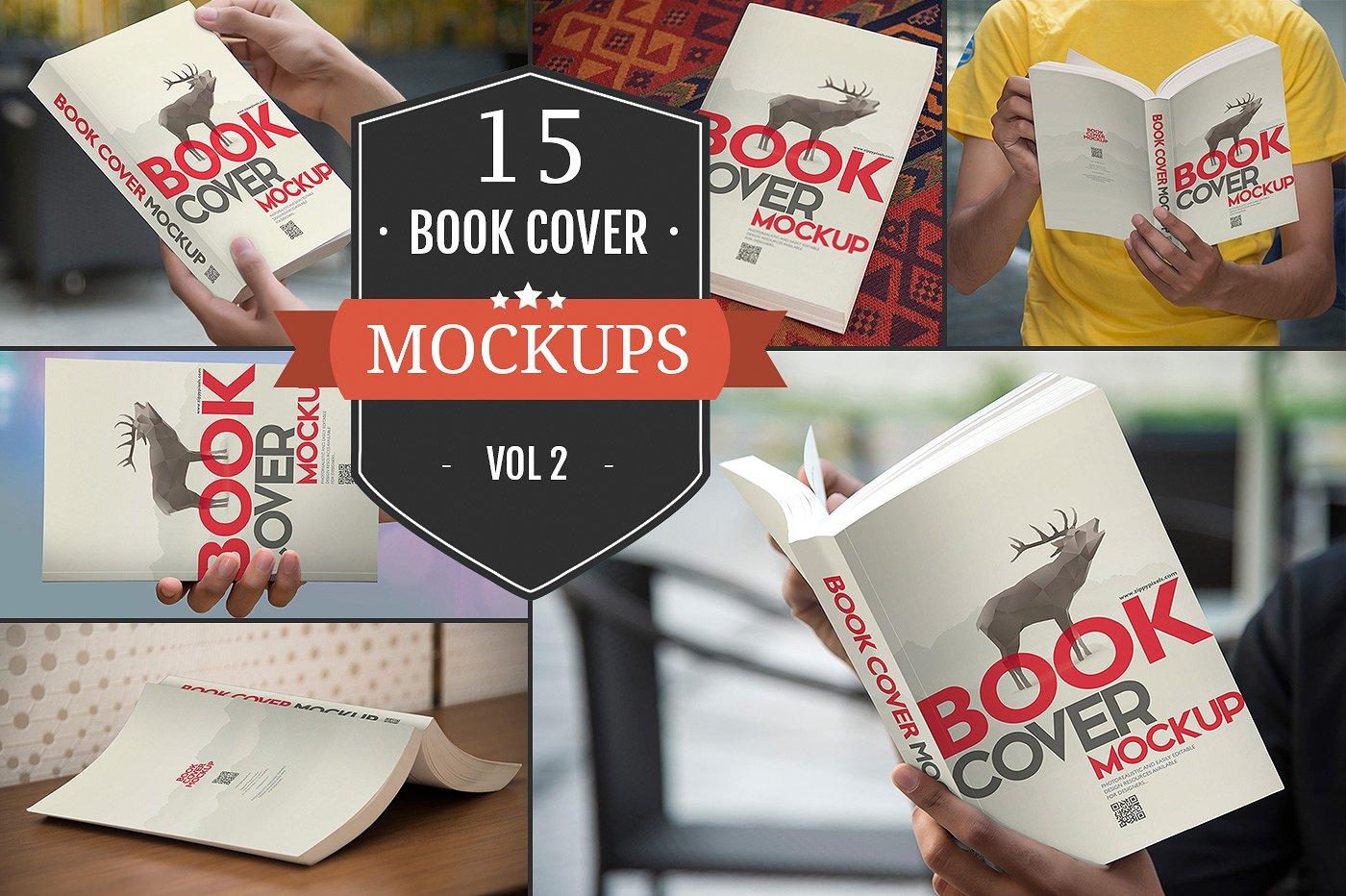 Paperback Book Mockups