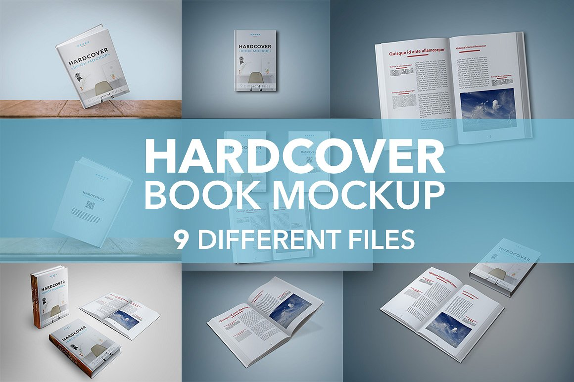 Timm Design Hard Cover Mockups