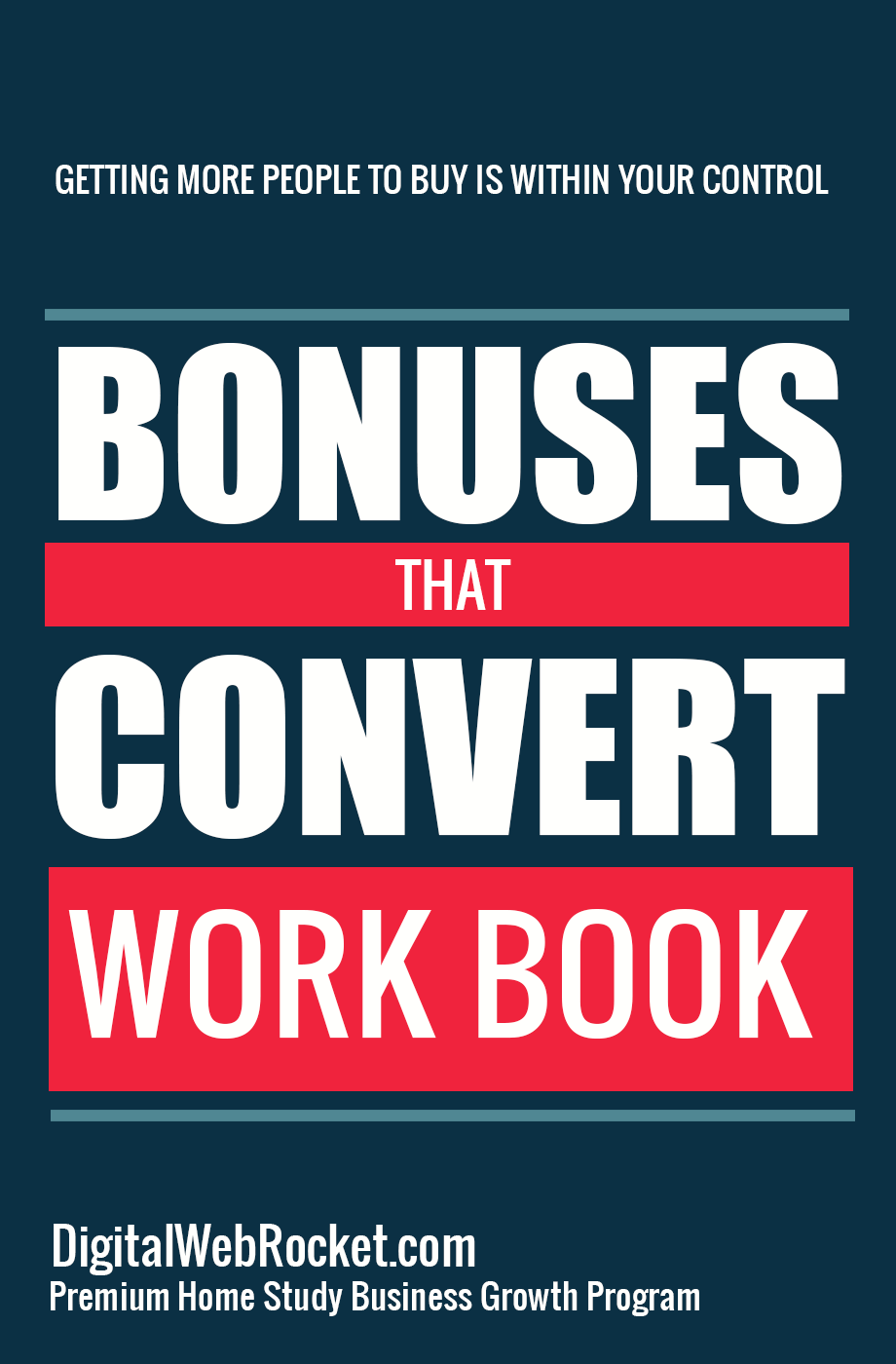 Bonuses That Convert Workbook