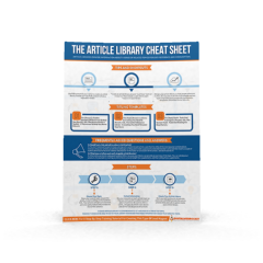 Article Libraries Cheat Sheet