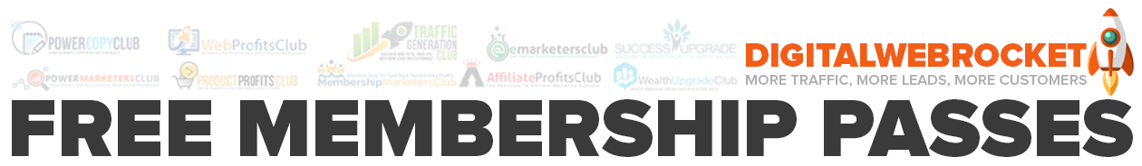 DigitalWebRocket - Free Membership Passes