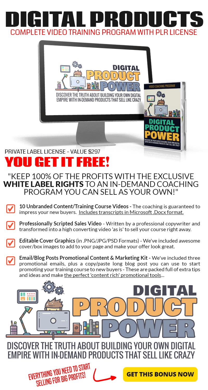Digital Product Power Bonus