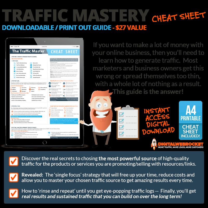 Traffic Mastery Bonus