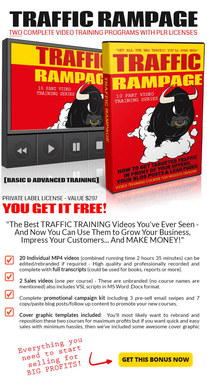 Traffic Rampage Bonus