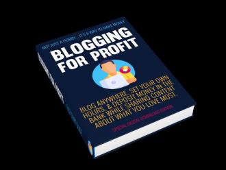 Blogging For Profit by Simon Hodgkinson