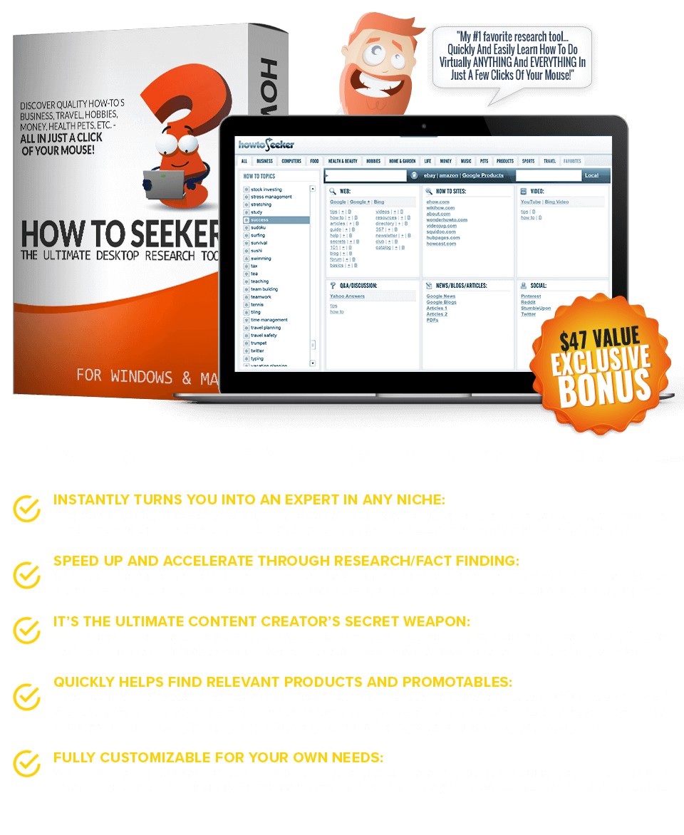 Get The How To Seeker Software FREE!
