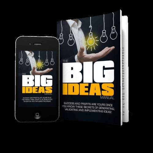 The Big Ideas Manual