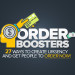 ORDER BOOSTERS