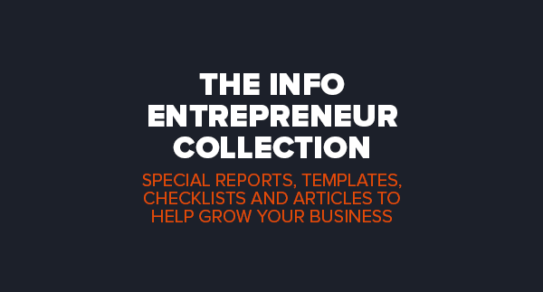 The Info Entrepreneur Collection by Simon Hodgkinson
