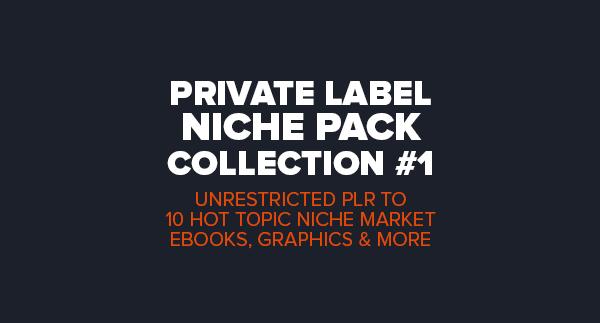 Private Label – Niche Pack Vol#1