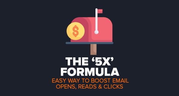 The 5X Formula by Simon Hodgkinson