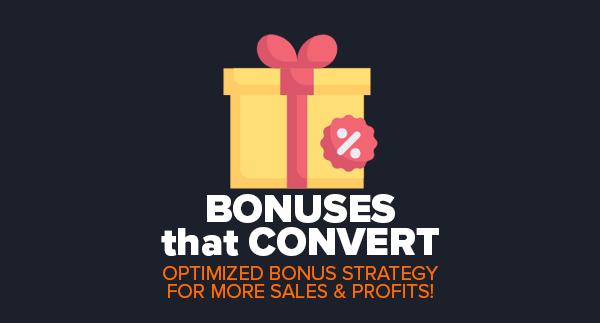 Bonuses That Convert by Simon Hodgkinson