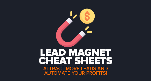 LEAD MAGNET CHEAT SHEETS