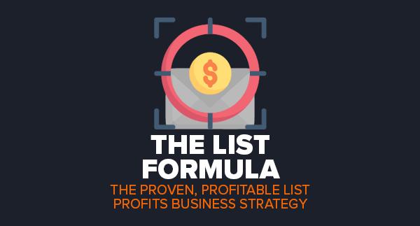 The List Formula by Simon Hodgkinson